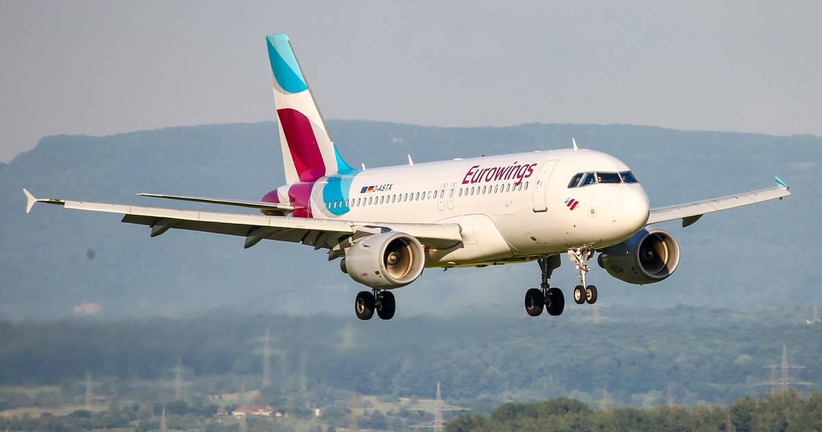 Eurowings-Flug nach Düsseldorf: Defekte Powerbank setzt Jacke in Brand