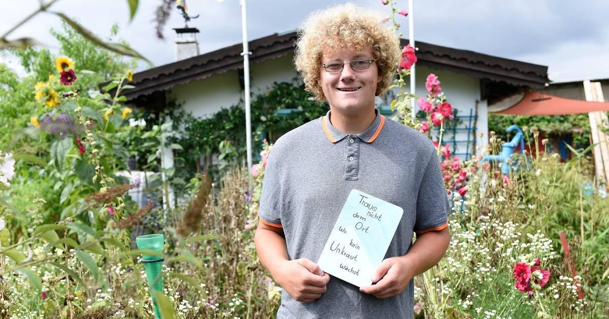 Viersen: Warum diesem 20-Jährigen der Garten das liebste Hobby ist