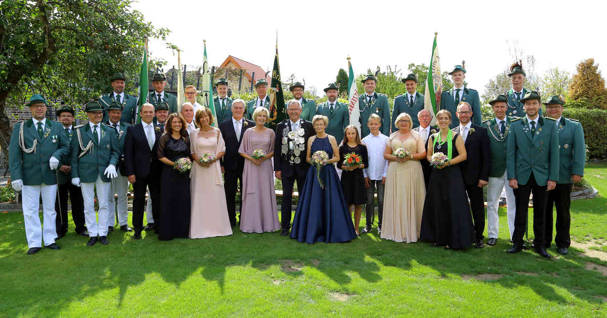 Alpen: Bruderschaft St. Michael/St.Walburgis setzt Schlusspunkt im Schützenjahr