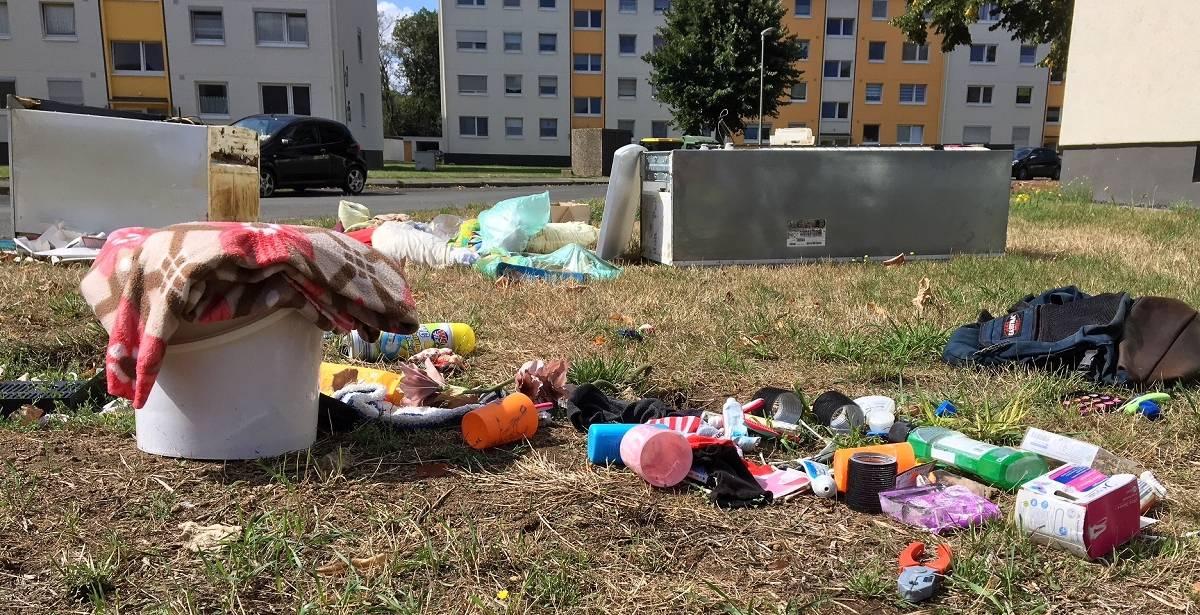 Dormagen: Anwohner empört über Müll in Horrem