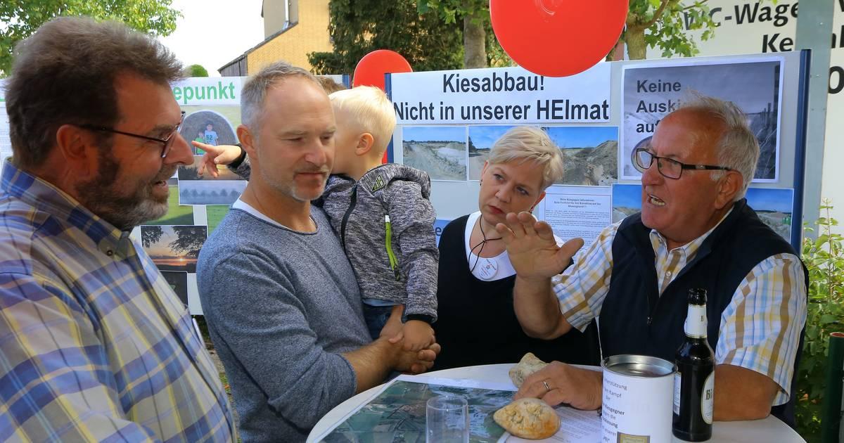 Alpen: Die Bönninghardt feiert und protestiert beim Heier Dorffest