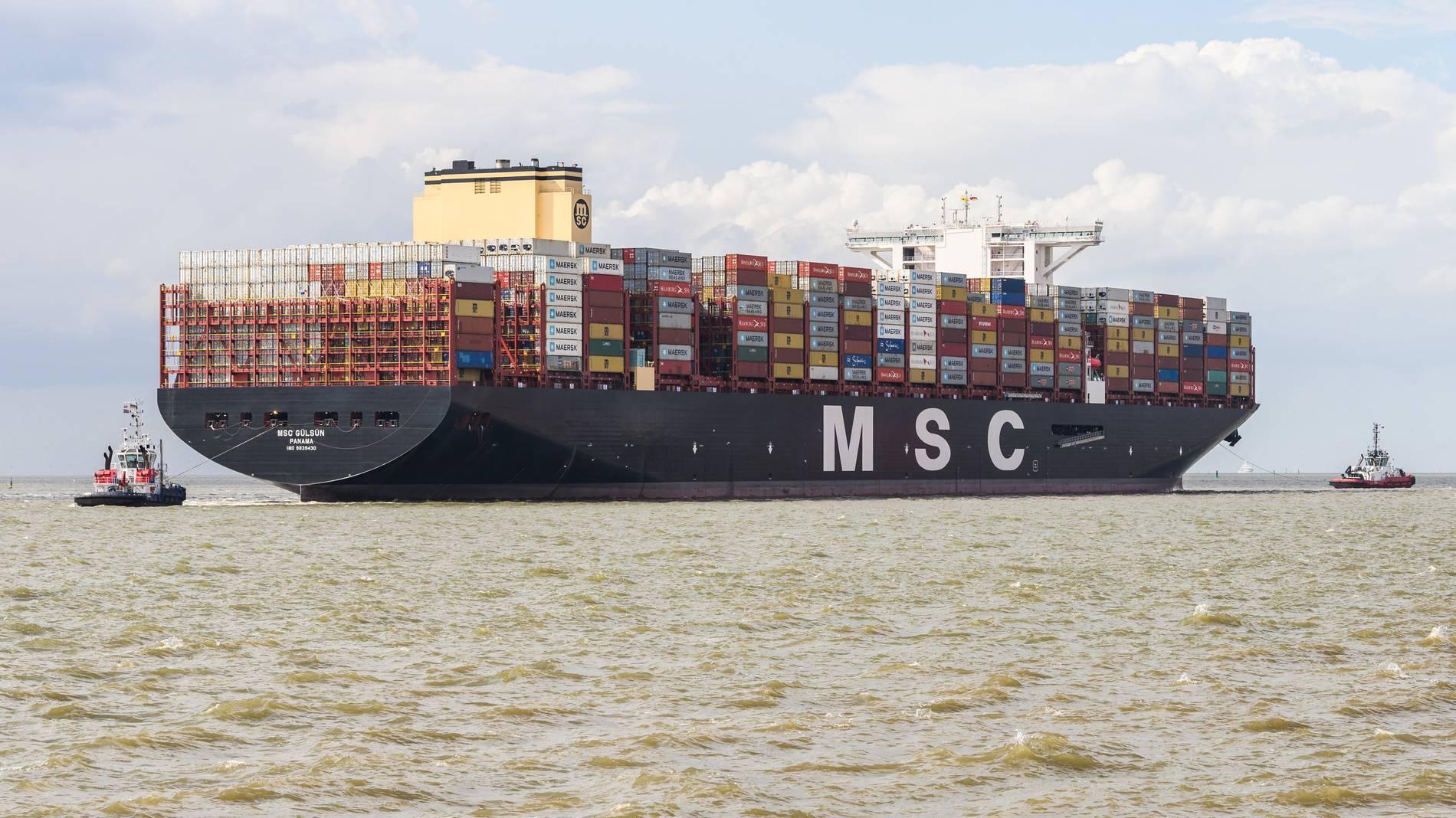 Größte Containerschiff Der Welt