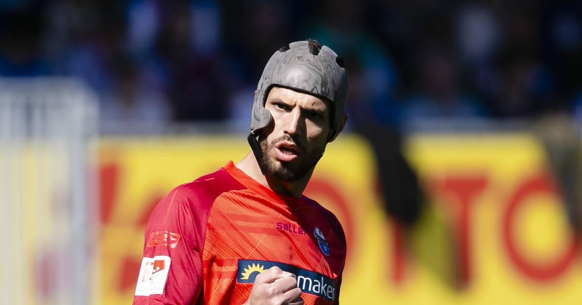 SC Paderborn: Klaus Gjasula schlägt Helmpflicht im Profifußball vor