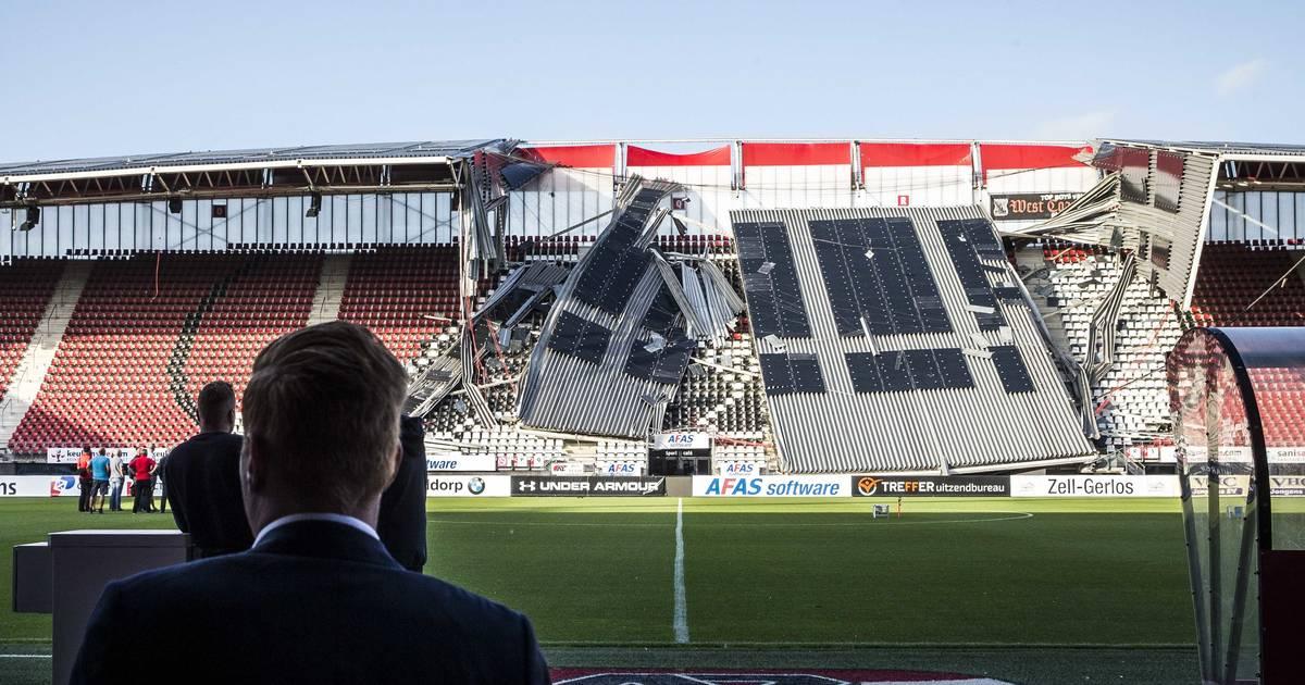 AZ Alkmaar: Mängel festgestellt - offizielle Untersuchung nach Tribünendacheinsturz