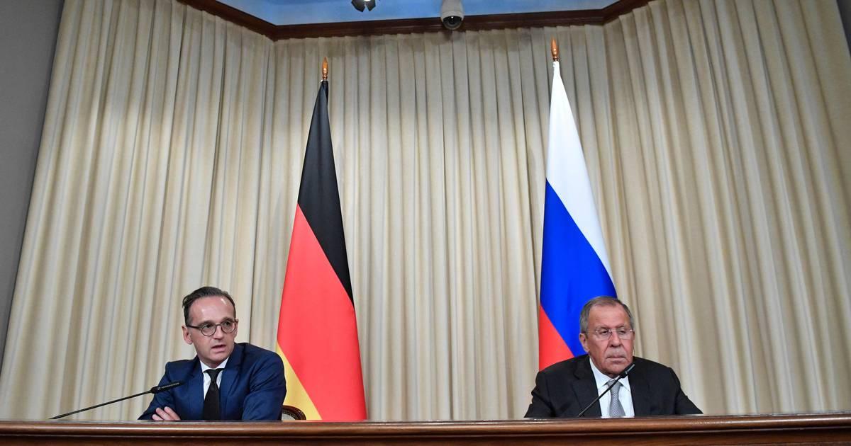 Moskau-Besuch: Heiko Maas und Sergej Lawrow liefern sich Schlagabtausch über Medienfreiheit