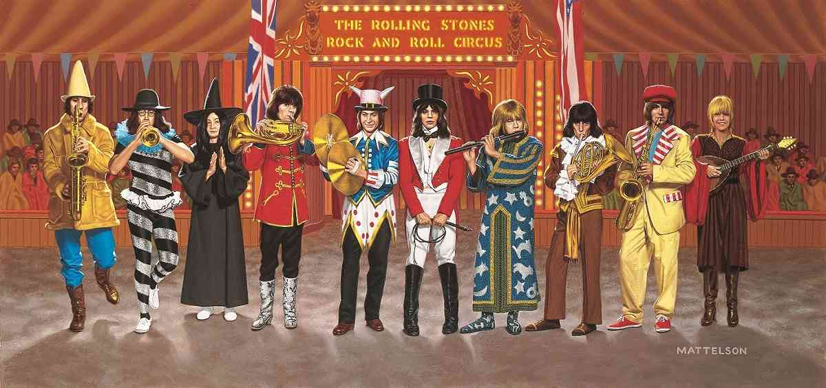 """The Rolling Stones Rock And Roll Circus"" endlich auf DVD"