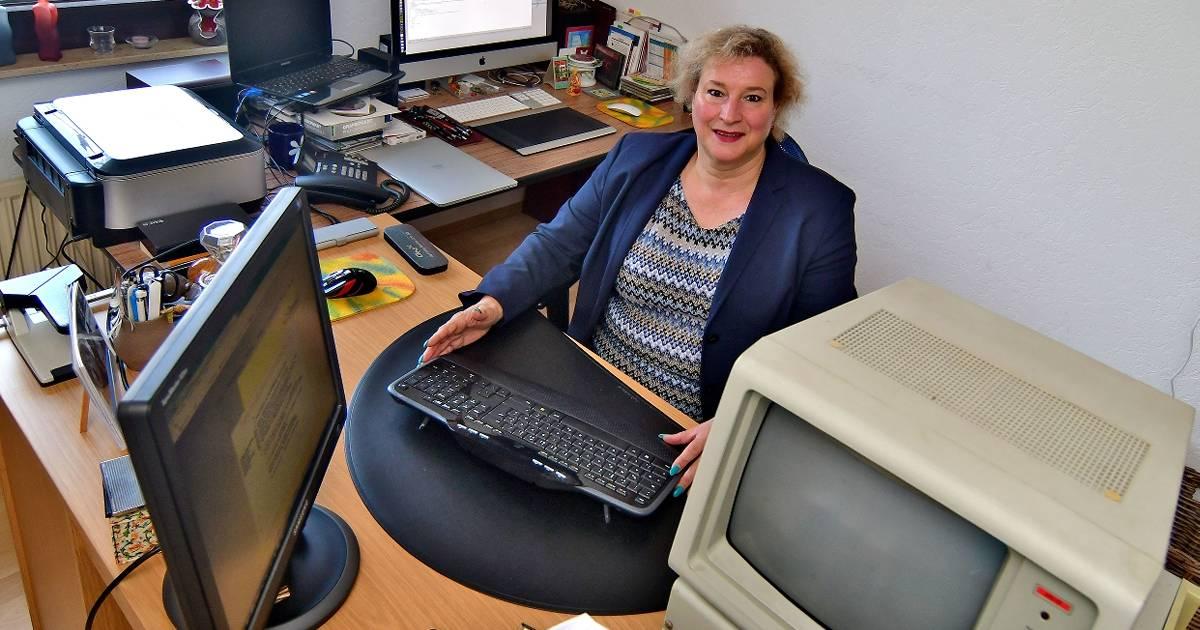 Moers: Heike Kluth steht ihren Mann in der IT-Branche