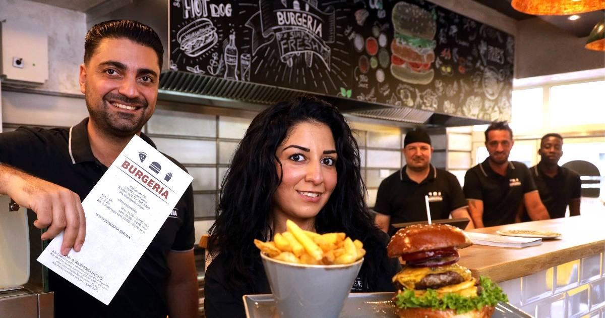In der Burgeria in Opladen gibt es auch Burger mit Trüffel