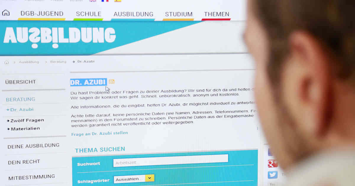 """Rhein-Kreis Neuss: """"Dr. Azubi"""" gibt Berufsstartern Tipps für die Ausbildung"""
