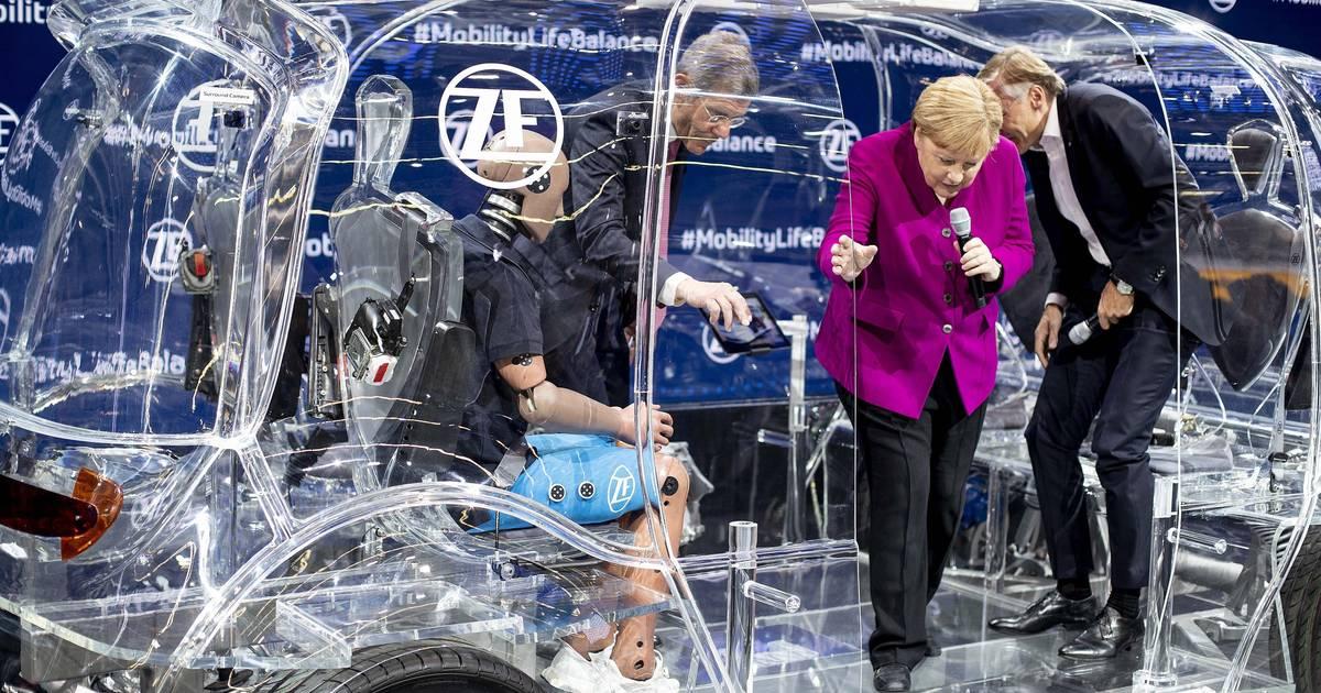 IAA 2019: Rollende Mensch-Maschinen - Zulieferer denken das Auto von morgen