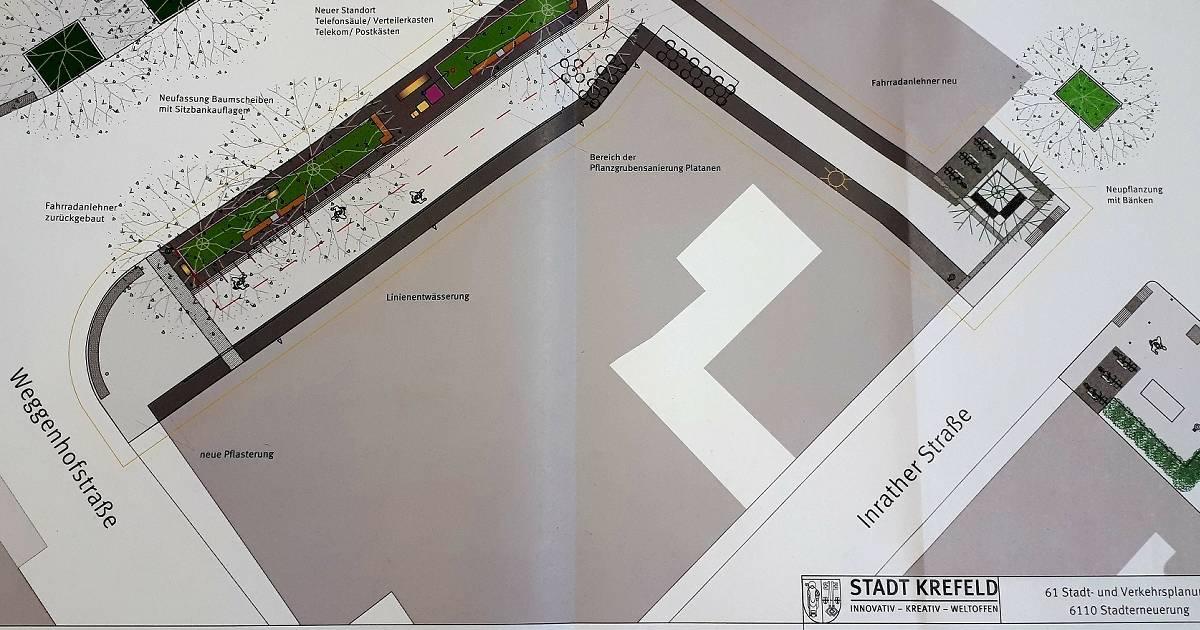 Krefeld: Der Nordbezirk bekommt mehr Grünflächen