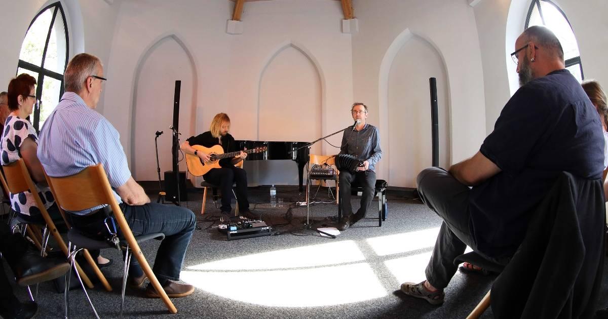 Erkelenz: Konzert in Leonhardskapelle im rahmen der Acoustic Night