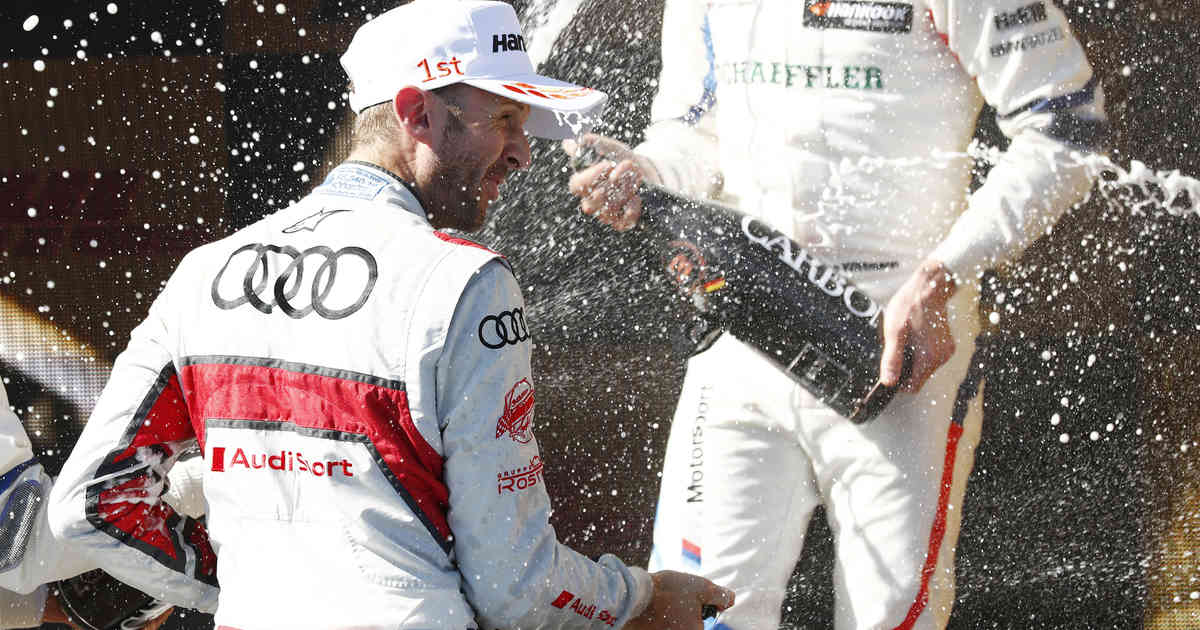 DTM: René Rast krönt sich vorzeitig zum Champion