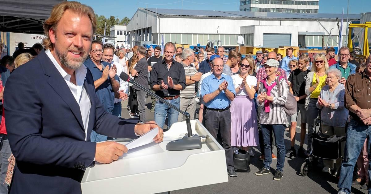 Erkelenz: Unternehmen Hegenscheidt-MFD GmbH feierte sein 130-jähriges Bestehen