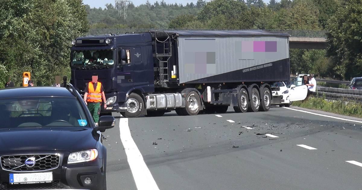 Nach Unfall auf A31 bei Schermbeck: Grevenbroicher Schüler danken Lkw-Fahrer