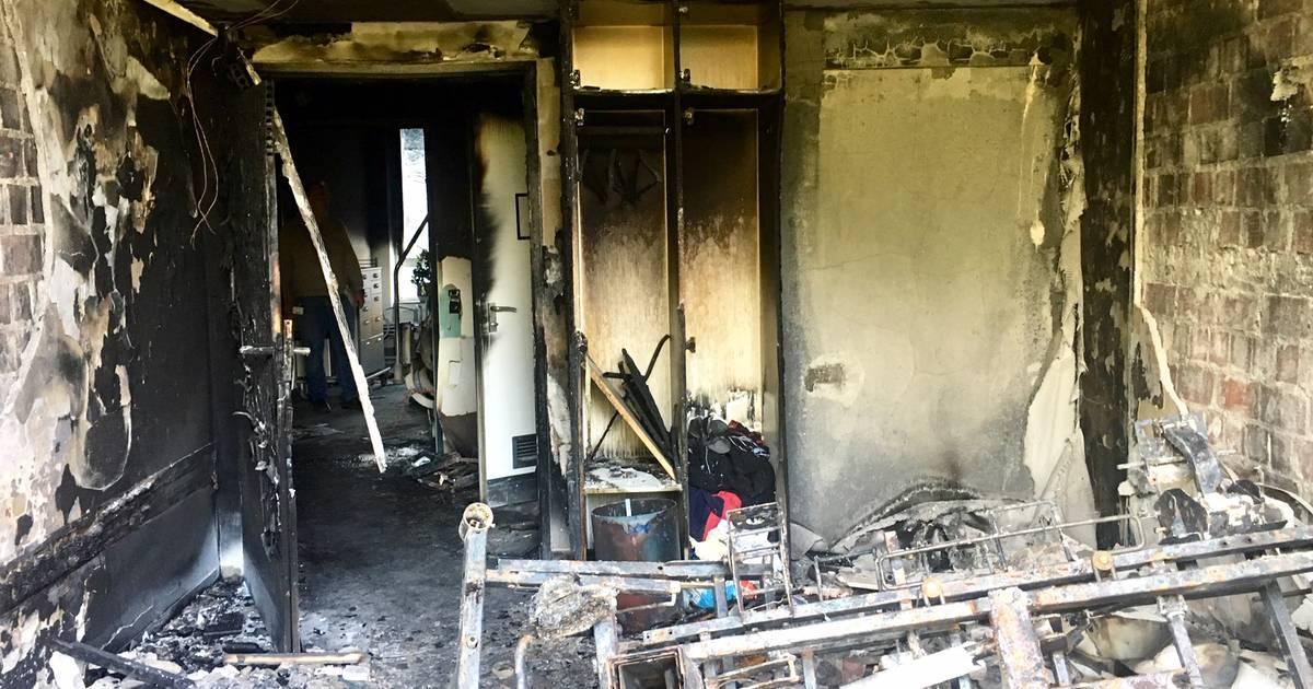 Brand im Marienhospital Düsseldorf: Tatverdächtiger in der Psychiatrie