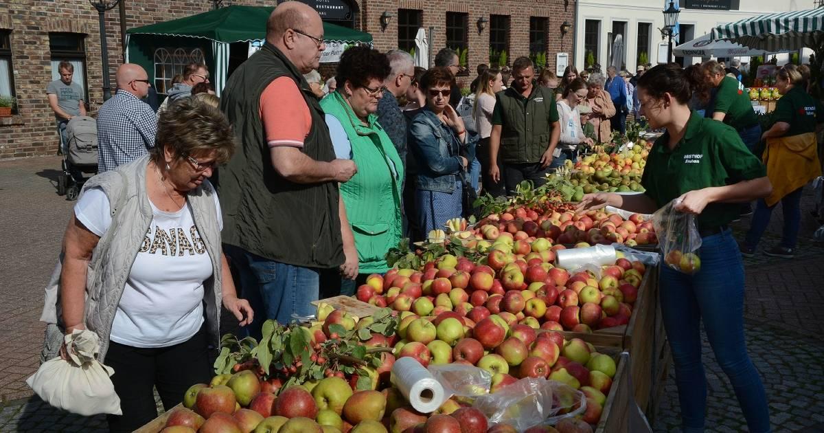 Apfelfest in Vorst
