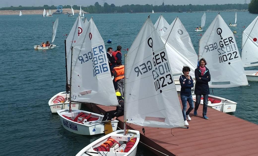 Yacht-Club Bayer in Dormagen: Segeln lernen auf dem Strabi