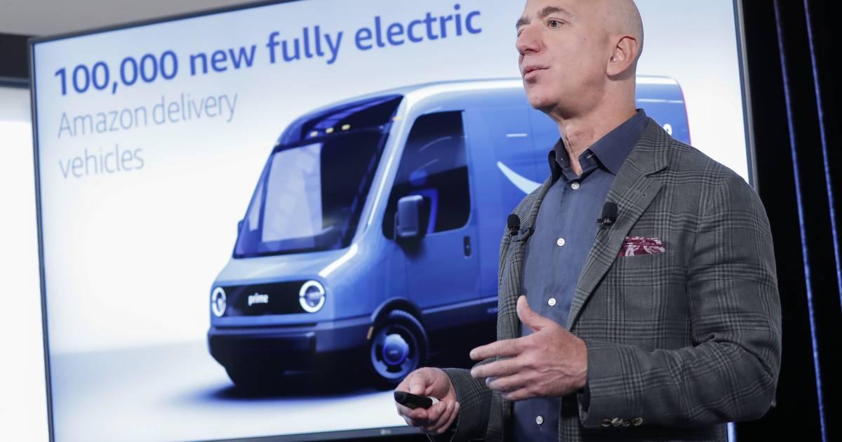 Klima-Initiative: Amazon bestellt 100.000 Elektro-Lieferwagen