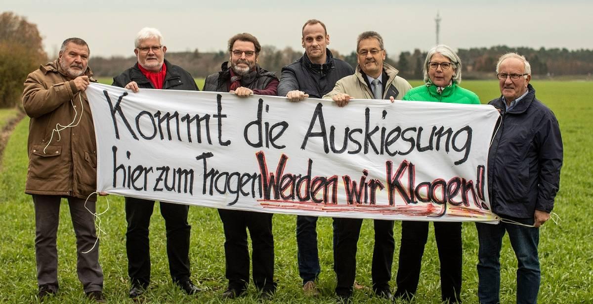 Kies: Alpens Rat beschließt einstimmig, gegen den Landesentwicklungsplan zu klagen