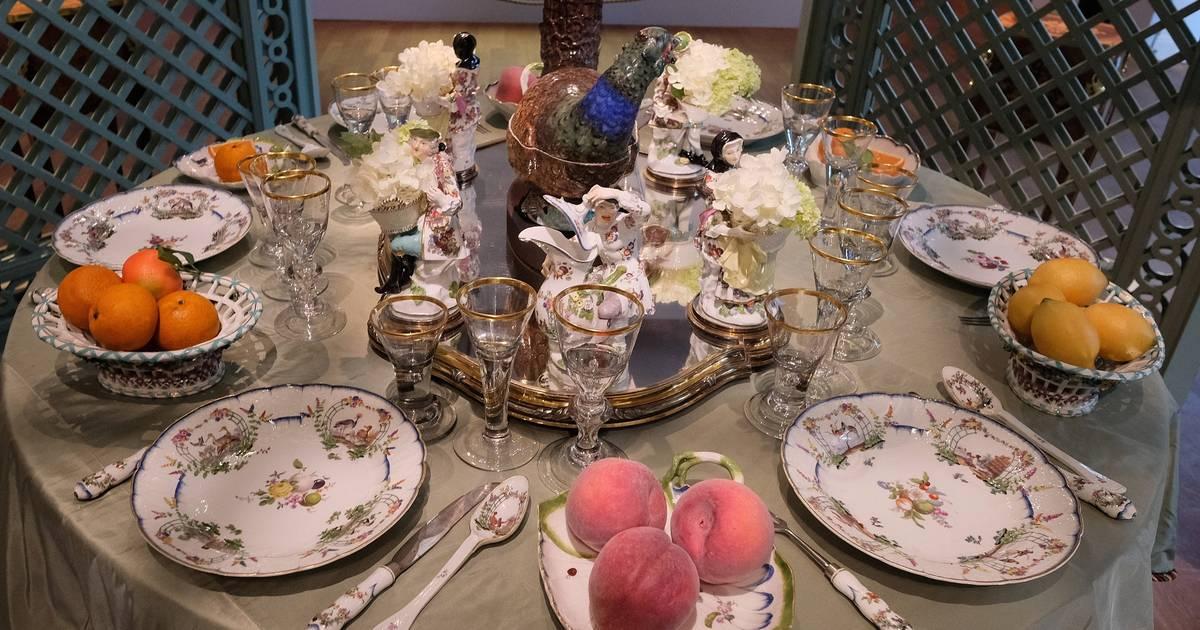 Sonderausstellung im Hetjens: Zwischen Porzellan und Blumenduft