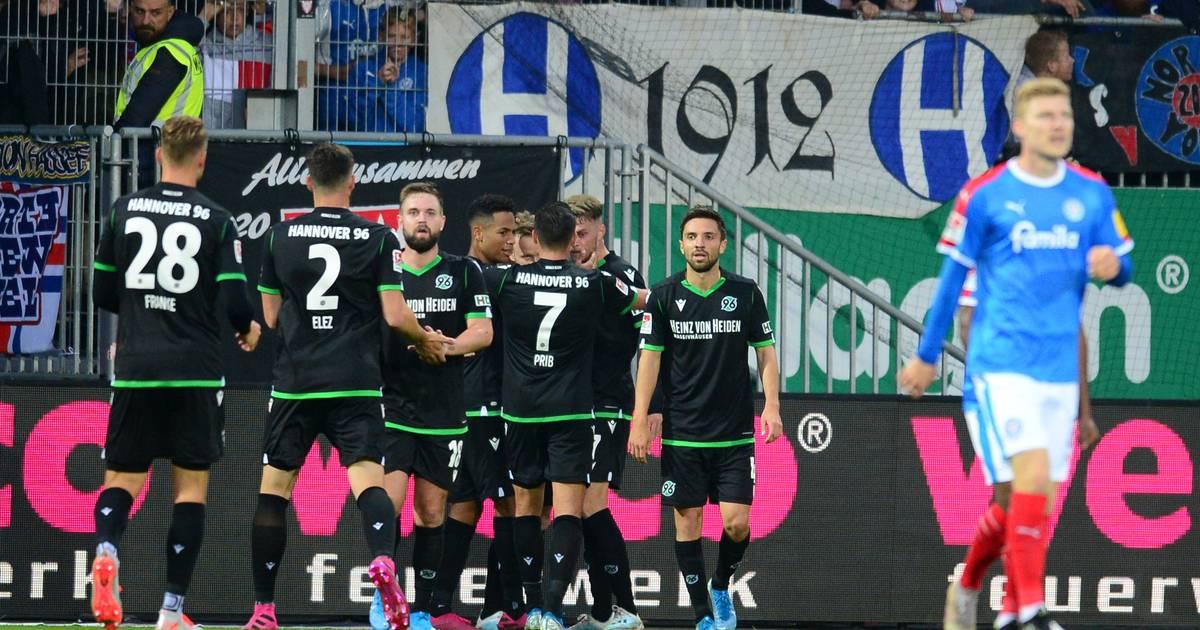 2. Bundesliga: Hannover 96 schlägt Holstein Kiel 2:1