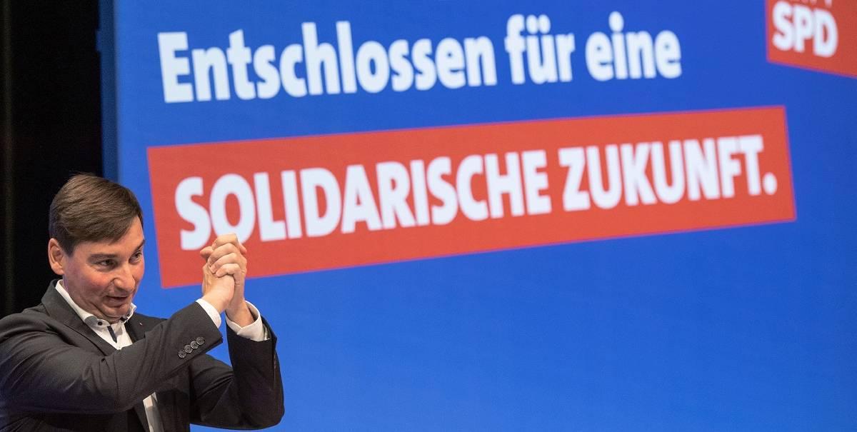 Landeschef Hartmann bringt NRW-SPD auf Linkskurs