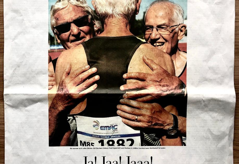 Senioren-Weltrekordler Herbert E. Müller aus Grevenbroich