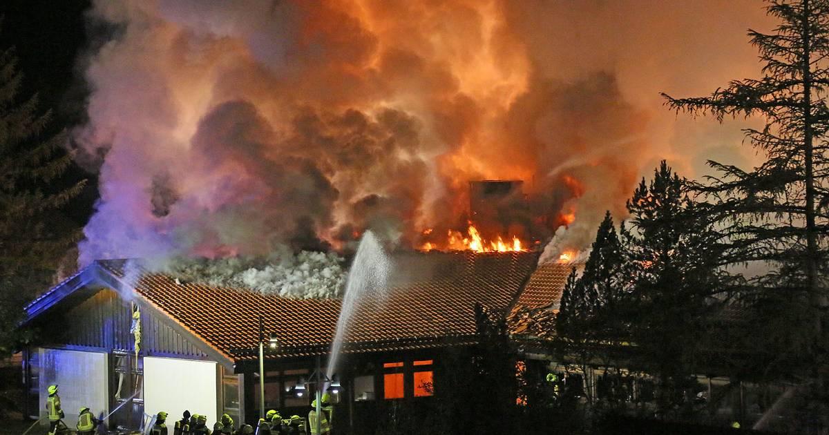 Schule in bayerischem Berchtesgaden brennt komplett nieder