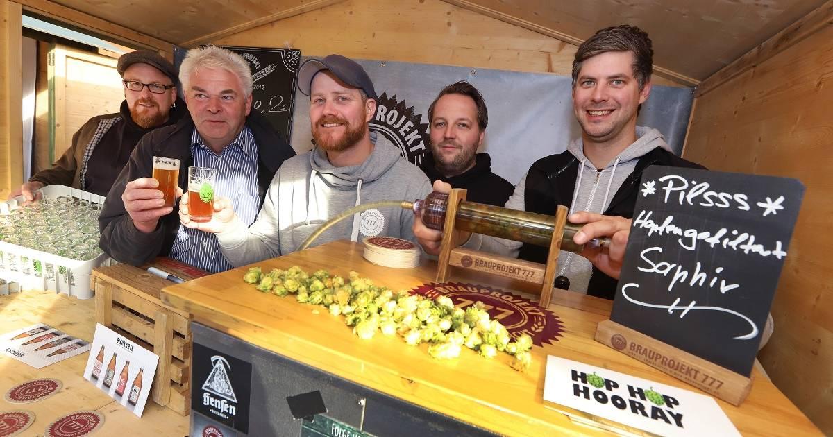 Bei Craft-Beer-Festival in Dinslaken gab es exotische Braukreationen