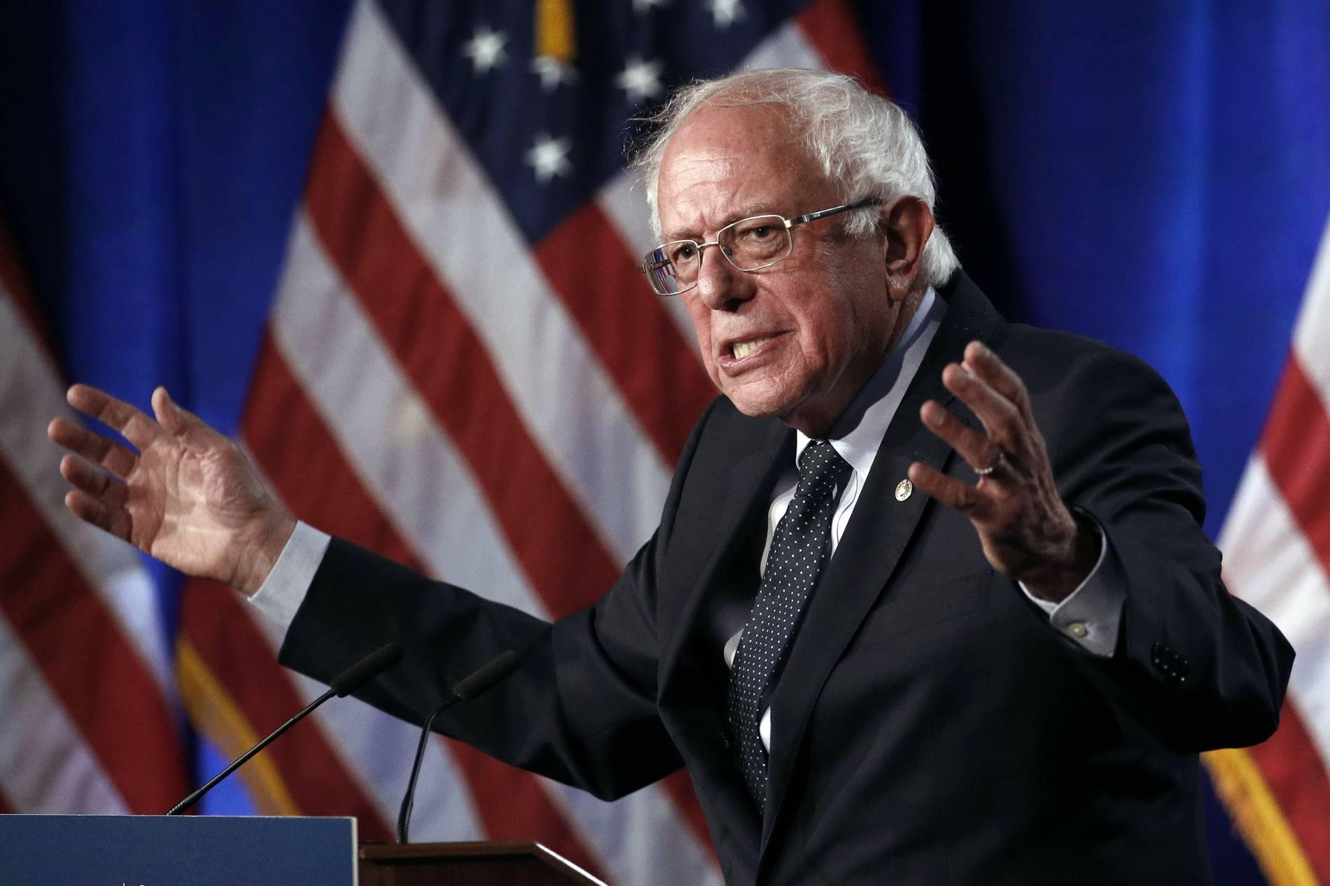 USA - US-Präsidentschaftsbewerber Sanders hatte einen Herzinfarkt