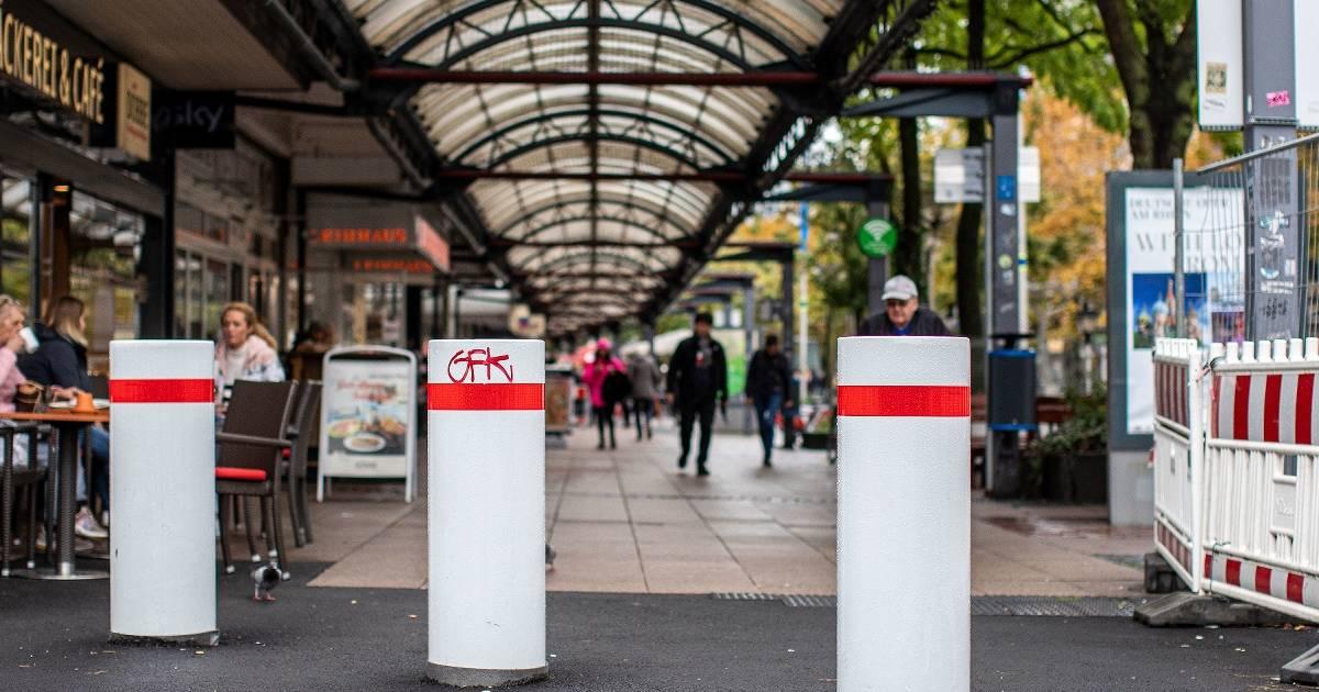 Anti-Terror-Poller werden nicht bis zum Duisburger Weihnachtsmarkt fertig