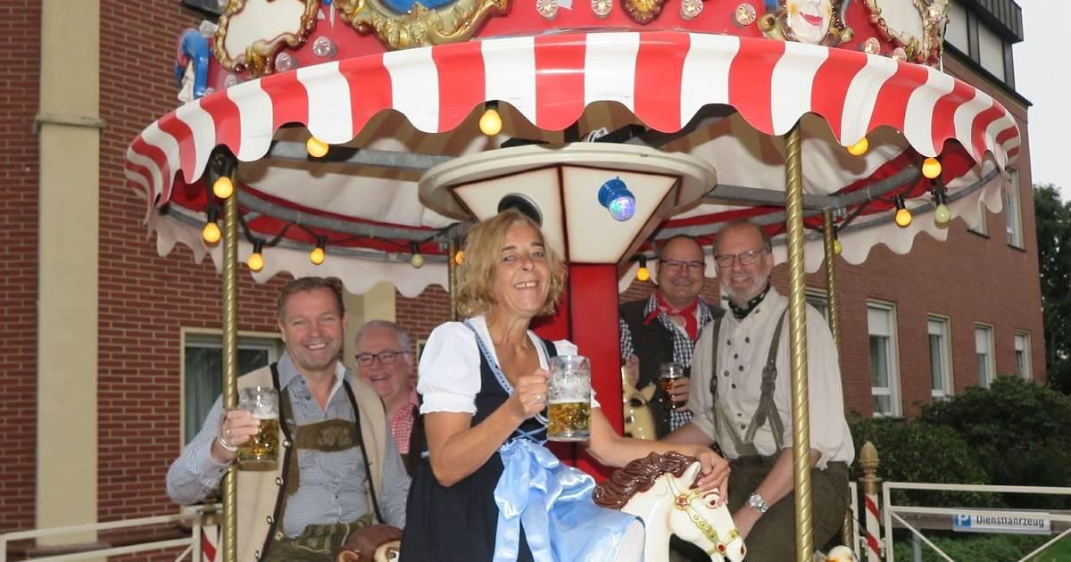 Schermbeck: Oktoberfest im Behindertenwohnheim Haus Kilian