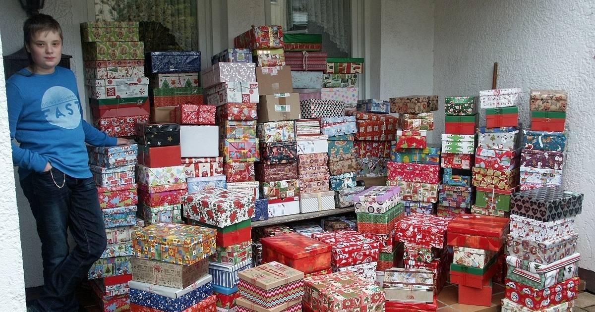 """""""Weihnachten im Schuhkarton"""" startet wieder in Hückeswagen"""