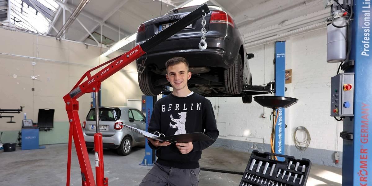 Neue Mietwerkstatt in Leichlingen für Hobbyschrauber