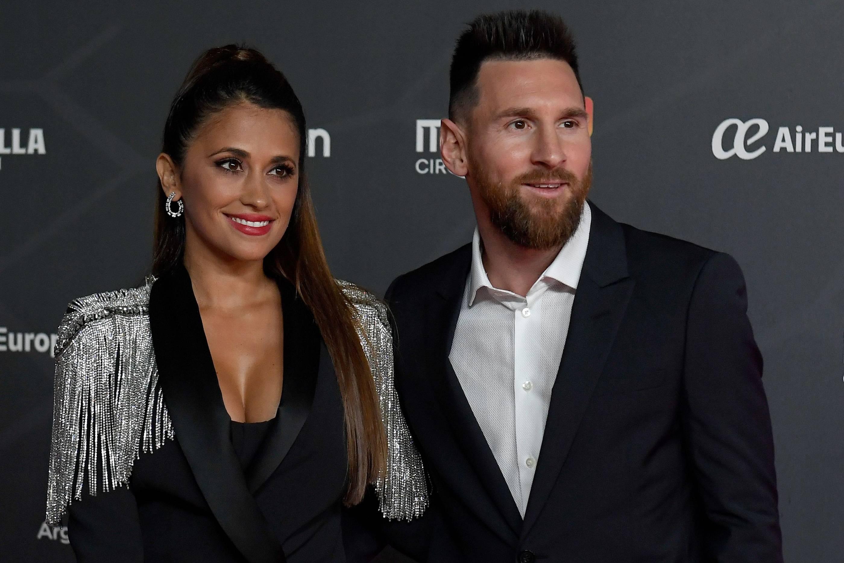Lionel Messi Frau
