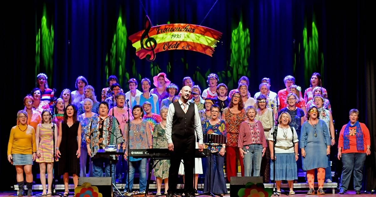 70er-Jahre-Musik beim Konzert des Frauenchors Oedt in Grefrath