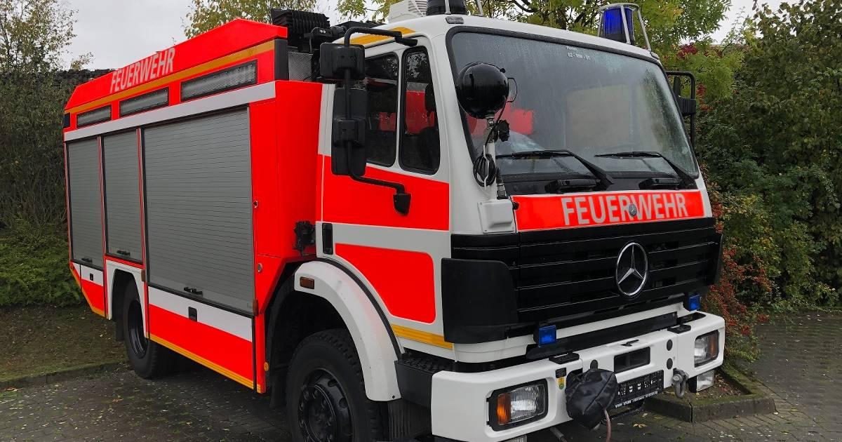 Kaarst: Ausrangierter Feuerwehrwagen steht zum Verkauf im Netz