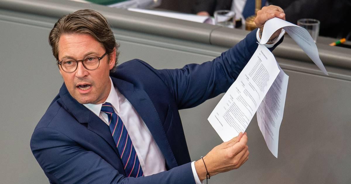 Pkw-Maut-Untersuchungsausschuss: Andreas Scheuer auf dem Schleudersitz