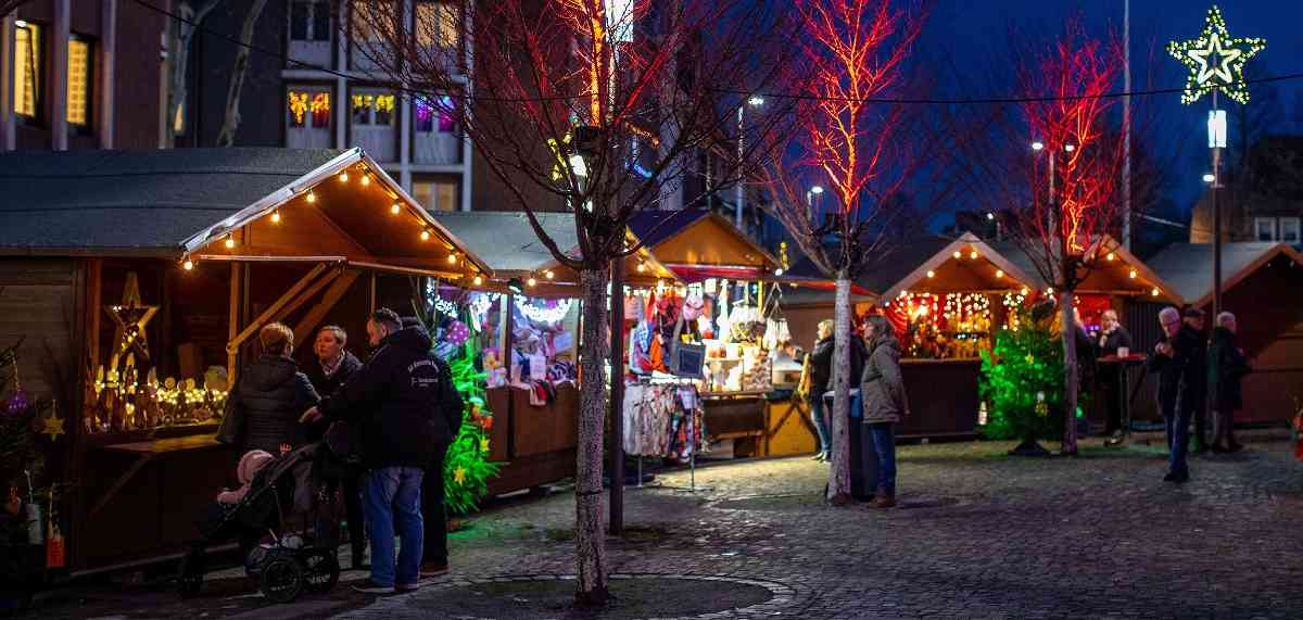 Advent in Moers: Ein Weihnachtsmarkt für die gesamte Familie.