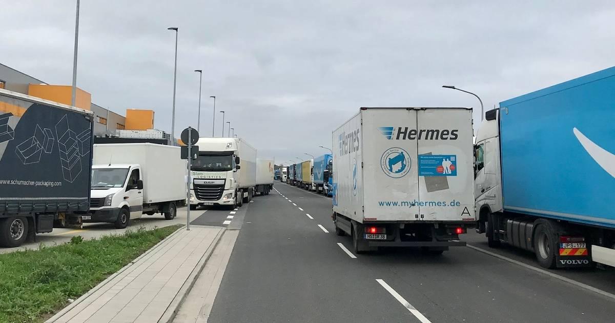 Mönchengladbach: Ärger um Liefer-Verkehr für Amazon Logistikzentrum