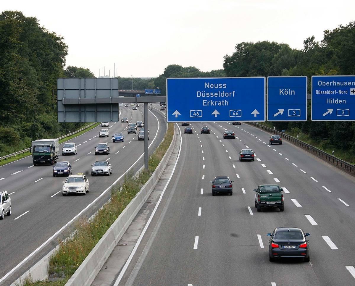 A46 Sperrung