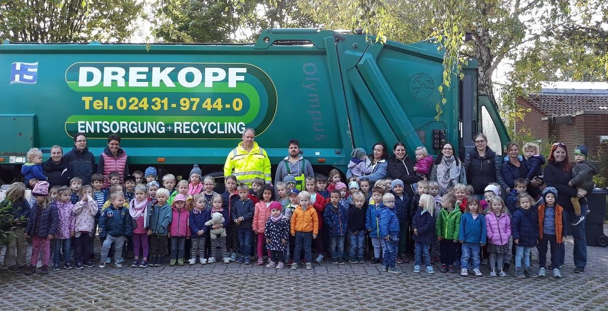 Erkelenz: Städtische Kindertagesstätte Am Hagelkreuz macht Müll zum Thema