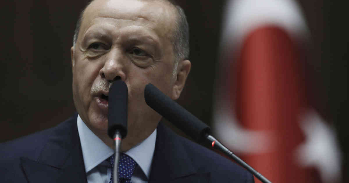 Türkei-Präsident Recep Tayyip Erdogan verteidigt Salut-Jubel