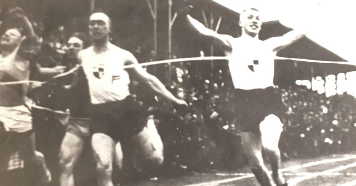 Preussen Krefeld: Leichtathletik-Abteilung gehörten Hubert Houben, Brigitte Holzapfel, Kriemhild Limberg und Karl-Heinz Sievers an.