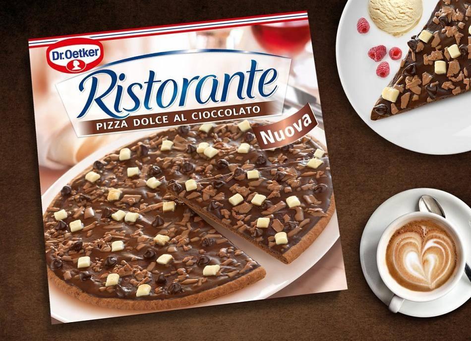 Lebensmittel: Dr. Oetker nimmt Schoko-Pizza aus Sortiment