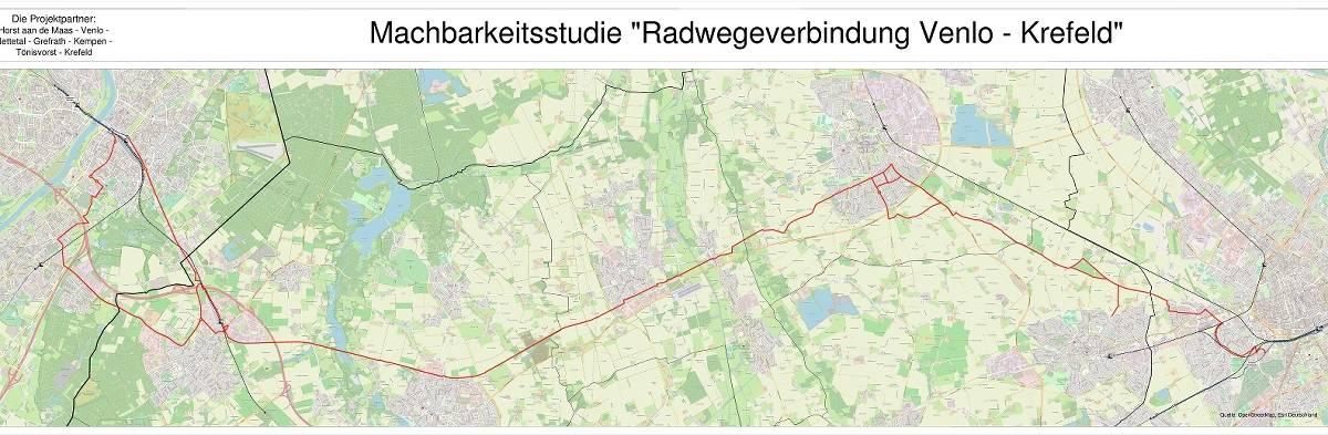 Krefeld: 18 Millionen Euro für neuen Radweg bis Venlo