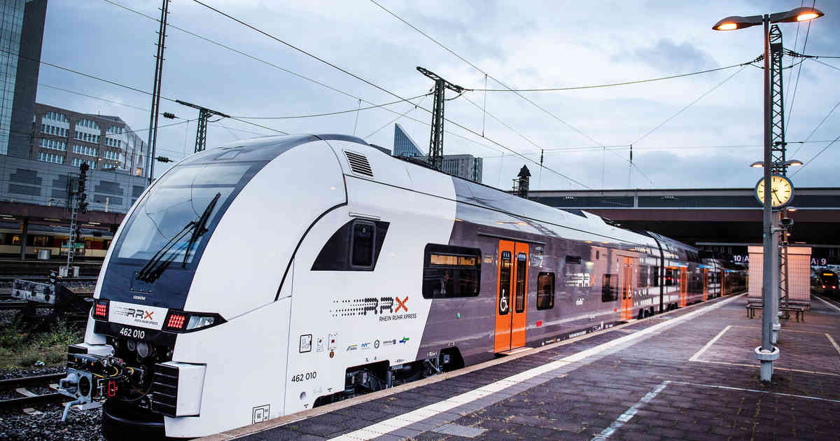 RRX: Testbetrieb auf RE6-Linie von Köln über Düsseldorf nach Dortmund
