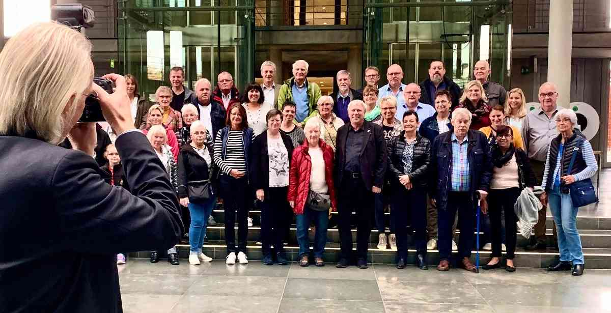 Bürger aus dem Kreis Viersen besuchen Uwe Schummer in Berlin