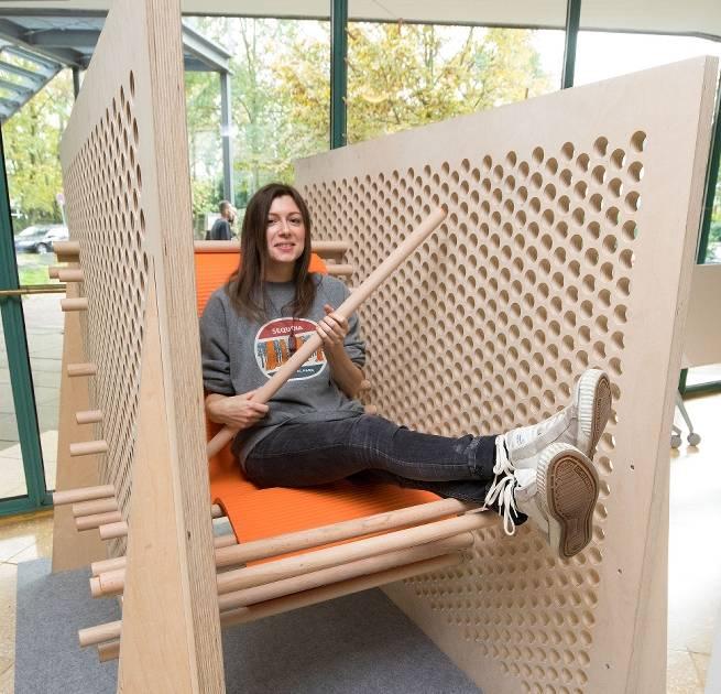 An der Hochschule Niederrhein in Krefeld zeigen Studenten eigene Projekte
